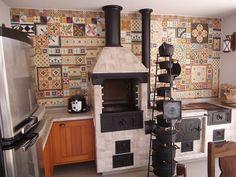 Bbq Kitchen, Backyard Kitchen, Outdoor Kitchen Design, Backyard Bbq, Kitchen Models, Cottage Interiors, My Dream Home, Design Visual, House Plans