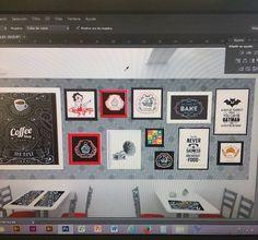 Trabajando en proyecto de decoracion para Cake Shop! @bangdesign99 ✔✅✔ Diseño, Ilustracion Decoracion Branding 947319478 ↪Direct BANG!  #diseño #decoracion #ilustracion #deco #framed #art #visual #branding #style #vintage #bettyboop #cakeshop #design #illustration #interiordesign #idea #project #photoshop #draw #color #designer #follow4follow #like4like #picoftheday #foto #photography #igers #igersperu