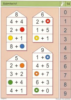 Rekenen: Pico Piccolo: Optellen tot 10/Splitsen tot 10 Preschool Games, Activities For Kids, Crochet Doily Patterns, Doilies Crochet, Paper Embroidery, Embroidery Dress, Point Lace, First Grade Math, Brain Teasers
