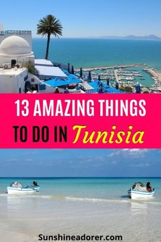 13 Great Things You Need to Do in Tunisia - Sunshine Adorer Holiday Destinations, Travel Destinations, Tunisia Africa, Ways To Travel, Travel Tips, Best Travel Guides, Beach Images, Holiday Resort, Enjoy The Sunshine