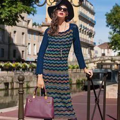 Платье в стиле Missoni