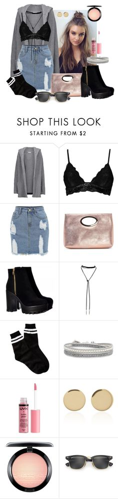 """Street Style No. 2"" by ashleyleeannclark ❤ liked on Polyvore featuring Chinti and Parker, Boohoo, Donald J Pliner, Bølo, Free Press, Charlotte Russe, Magdalena Frackowiak, MAC Cosmetics and Ray-Ban"
