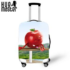 76825c44d3a 6.4% Cashback + 24% OFF - creative design travel Spandex Cover for suitcase  Luggage