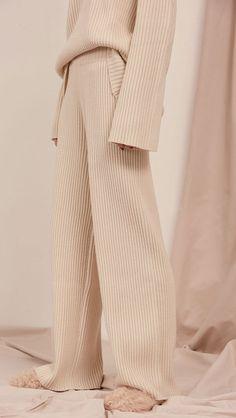 The Darker Horse: Fancy Pants | L'Oeil Copen Pant Rib Knit Pant & Sweater