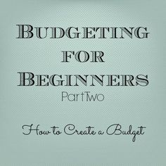 Last week I wrote a post about budgeting, what it means to me and why anyone should even bother to create a budget. This week, I'm going to talk about HOW to set up a budget. This one is going to be a bit lengthy so hang in there with me. To review just a little bit, my family uses a to-the-penny style budget. I