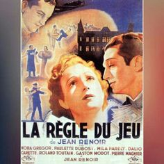 The Rules of the Game(original French title:La Règle du jeu) is a 1939 French film directed byJean Renoirand starringNora Gregor, Paulette Dubost,Mila Parély,Marcel Dalio, Julien Carette,Roland Toutain,Gaston Modot,Pierre Magnierand Renoir. The film is acomedy of mannersthat depicts members of upper-class French society and their servants just before the beginning ofWorld War II, showing their moral callousness on the eve of impending destruction.