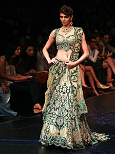 Love the colors& design!  ..---Satya Paul - BRIDAL WEAR - Bridal Lehengas - ESW1839