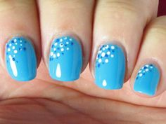 Trade in your typical French tip for a new nail design. Check back every day for a fun style to try.