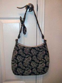 Free Bag Pattern and Tutorial - Hobo Bag