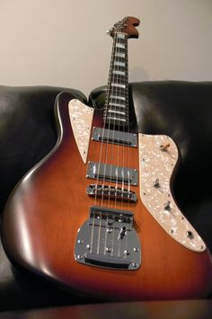 Custom Les-Paulish guitar, Custom Jazzmaster, and 24fret tele - The Gear Page