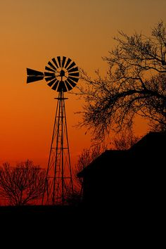 Windmill Sunset Photograph  - Windmill Sunset Fine Art Print