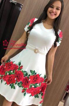 VESTIDOS - Floratta Modas Lehnga Dress, Frock Dress, Nyc Dresses, Dress Outfits, Modest Fashion, Women's Fashion Dresses, Simple Dresses, Beautiful Dresses, Dress Design Drawing