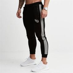 GYMOHYEAH 2018 New Men's fitness Hoodies Crossfit pullover Zipper jacket Sweatshirts Bodybuilding sportswear fashion hoodies - New Ideas Mens Sweatpants, Jogger Sweatpants, Mens Compression Pants, Mens Jogger Pants, Men's Pants, Trousers Mens, Red Pants, Sweat Pants, Sweatpants