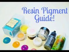 Resin Pigments ☆ Beginner's Guide to Resin Crafting for toddlers room ideas stick crafts crafts Clear Polyester Casting Resin, Resin Casting, Ice Resin, Resin Art, Diy Hacks, Coloring Resin, Castin Craft, Diy Resin Crafts, Stick Crafts