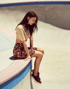 Emily Ratajkowski is a Skater Girl in Grazia France by Jason Kim