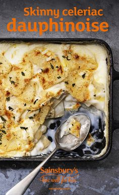 dauphinoise All the comfort without the calories, this celeriac dauphinoise sounds good to us.All the comfort without the calories, this celeriac dauphinoise sounds good to us. Cheese Recipes, Vegetable Recipes, Low Carb Recipes, Vegetarian Recipes, Healthy Recipes, Celeriac Recipes, Recipe For Celeriac, Veg Dishes, Party Food And Drinks