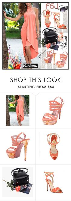 """""""fsjshoes"""" by lip-balm ❤ liked on Polyvore featuring WALL, fsjshoes and fsj"""