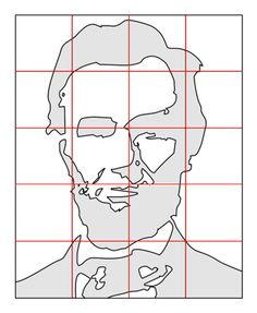 Pop Art Portrait Template - Abraham Lincoln