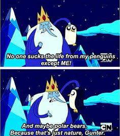 Ice King and Gunter