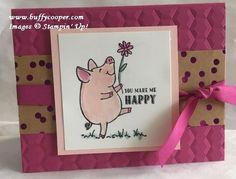 """This Little Piggy While I will be posting some """"sneak peeks"""" from the new Stampin' Up! Annual Catalog over the next couple of months, I'm going to focus mostly on things you can order now – current an"""