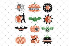 Halloween Files By SVG Cut Studio