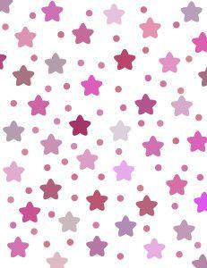Papel deco con estrellas
