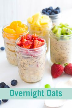 Overnight oats- I love the idea! I find it hard to believe they will not be mush by Friday, but willing to try.