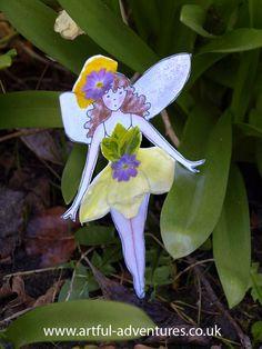 Paper Flower Fairy : Artful Adventures