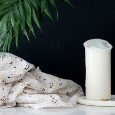 """Tissu """"Angèle"""" ATELIER BRUNETTE - 1,80 € x 10cm - Anna Ka Bazaar  • 100% Batiste de coton de qualité • Laize 140cm • Densité 85 g/m2 • Lavage à 30°"""