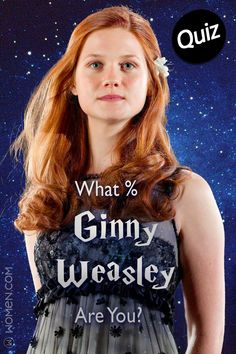 Take this Harry Potter personality test and we will tell you what percentage Ginny Weasley you are. Are you like the famous Weasley sister? Harry Potter Hoodie, Harry Potter Girl, Harry Potter Quiz, Harry Potter Wizard, Harry Potter Characters, Harry Potter Ginny Weasley, Ron Weasley, Hermione Granger, Bonnie Wright