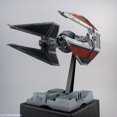 Star Wars Design, Star Wars Vehicles, Star Wars Models, Tie Fighter, Wings, Scale Models, Starwars, Empire, Ships