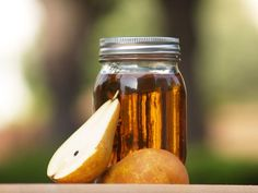 pear liquor homemade with brandy