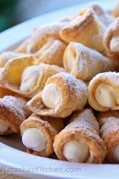 Mom's Cream Horn Recipe. An easy party favorite! #kingofjuices #ad #sk