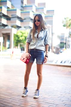 Song of Style: Denim on Denim for Work
