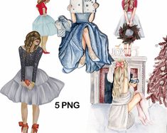 Christmas exclusive pack 2021 Halloween Senior Dr Seuss   Etsy Noel French, Fashion Wall Art, Fashion Sketches, Party Printables, Unique Fashion, Christmas Wreaths, Girl Fashion, Best Gifts, Aurora Sleeping Beauty