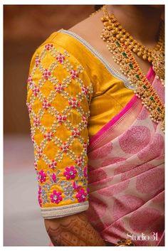 Cutwork Blouse Designs, Pattu Saree Blouse Designs, Fancy Blouse Designs, Bridal Blouse Designs, Latest Saree Blouse Designs, Shirt Designs, Hand Work Blouse Design, Stylish Blouse Design, Aari Work Blouse
