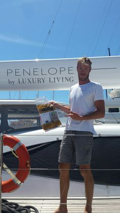 A yachtie with his YPD in Palma. Luxury Living, Image
