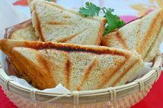 Aquí podrás saber como se prepara la receta: Sandwich de mezcla. Lista de los ingredientes necesarios y elaboración.