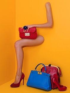 Nudge it Network: Creative Visual Merchandising Displays Fashion Still Life, Handbag Display, Shoe Display, Display Ideas, Visual Merchandising Displays, Visual Display, Retail Displays, Fashion Merchandising, Editorial Photography