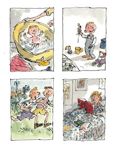Michael Rosen's Sad Book: A Beautiful Anatomy of Loss, Illustrated by Quentin Blake | Brain Pickings