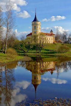 Château de Mariental en Russie // Mariental Castle, Pavlovsk, Russia.