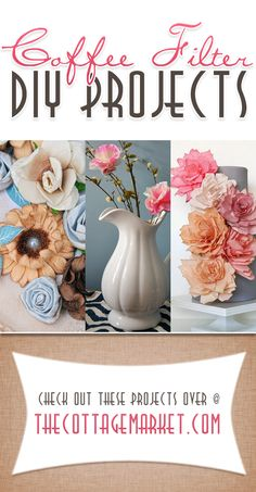 15 Coffee Filter Projects - The Cottage Market