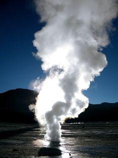 Geysers del Tatio, Atacama-Chile by EcoturChile, via Flickr