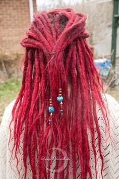 red cherry dreads