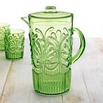 Enduring Glassware by Le Cadeaux - Light Green $30.00