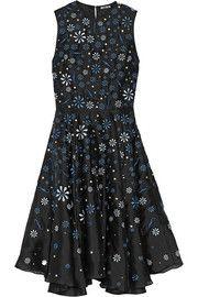 Ana Maria embellished silk organza dress