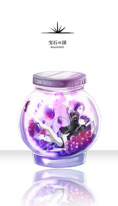 Manga Anime, Anime Art, Chibi, Glass Cages, Girl In Water, The Last Unicorn, Pokemon, Jar Art, Pretty Art