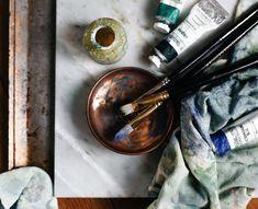 Read up on Design Sponge's Studio Tour of local Greenville artist Emily Jeffords. // yeahTHATgreenville