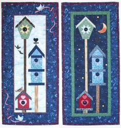 Birdhouses, flowers, and gardening boots - perfect quilts to ... : birdhouse quilts - Adamdwight.com