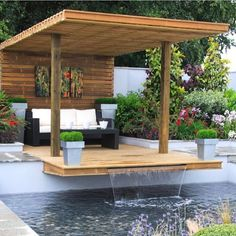 70 Different Design Ideas for Patio Gazebo Design Wood, Design Café, Design Hotel, Backyard Garden Landscape, Backyard Landscaping, Best Interior Design, Interior Design Living Room, Home Decor Catalogs, Patio Gazebo